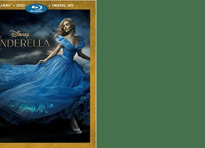 Disney's CINDERELLA on Blu-Ray + Crafts and Games Printables