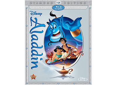 Aladdin: Diamond Edition on Blu-ray 10/13