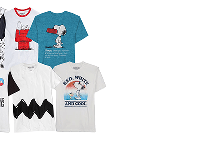 Enter to Win a Snoopy Men's Tee: 3 Winners! #Giveaway ends 7/18