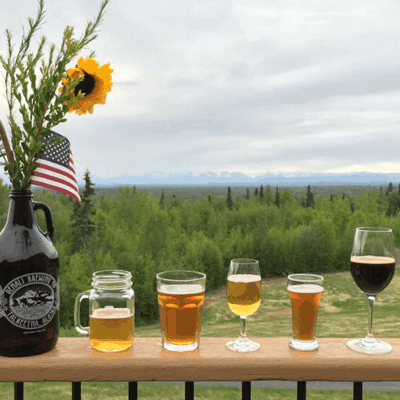 Talkeetna Beer Dinner with Denali Brewing Company at the Talkeetna Alaskan Lodge