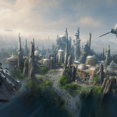 Star Wars-Themed Lands Coming to Walt Disney World and Disneyland Resorts Announced at #D23Expo