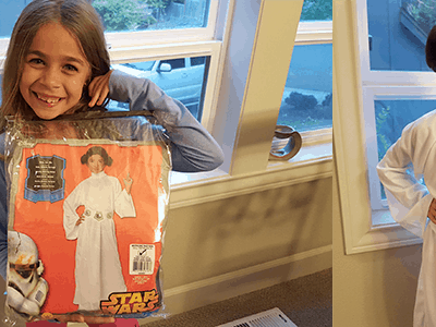 Star Wars Princess Leia Costume at Costume Discounters