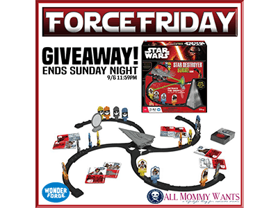 #ForceFriday Game #Giveaway ends 9/8
