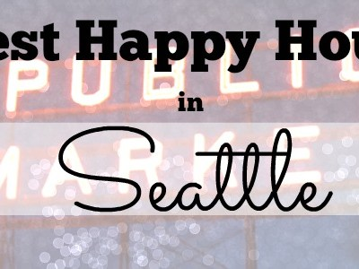 Tasting My Way Through Seattle for Happy Hour #IFBC2015