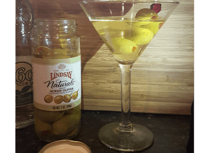 Mommy's Olives and a Dirty Girl Martini