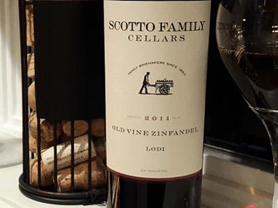 Scotto Family Cellars Old Vine Zinfandel 2011