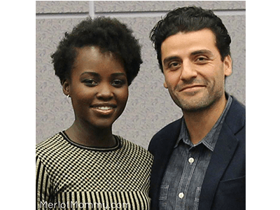 Lupita Nyong'o and Oscar Isaac Talk Star Wars in Exclusive Interview