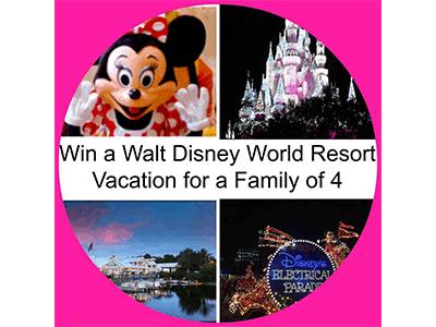 Win a Walt Disney World Resort Vacation