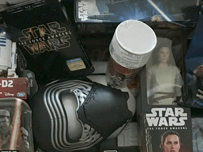 Hasbro + Star Wars: The Force Awakens on Blu-Ray/DVD