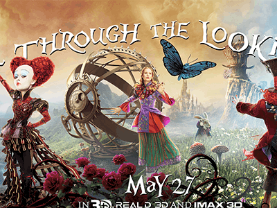 Follow Me Down the Rabbit Hole as I Head to LA for Red Carpet Premiere of Alice Through the Looking Glass