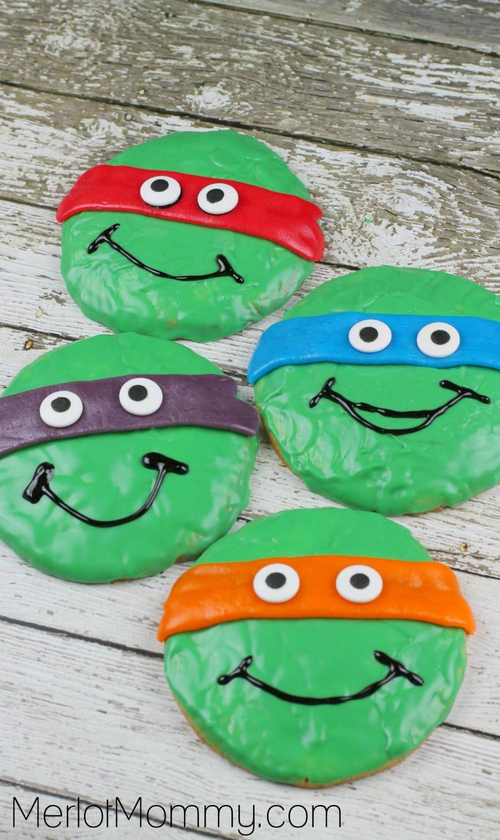 TMNT Cookies