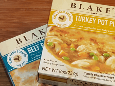 Blake's All-Natural Foods Turkey Pot Pie and Other Comfort Foods