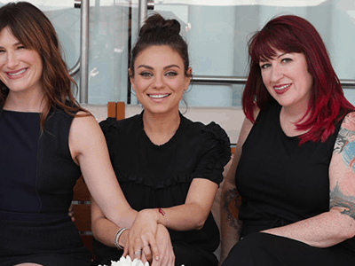 Bad Moms Mila Kunis and Kathryn Hahn Interview