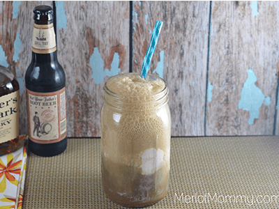 Whiskey Caramel Root Beer Float