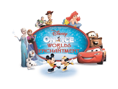 DISNEY ON ICE presents WORLDS OF ENCHANTMENT Coming to Portland's Moda Center October 20-23
