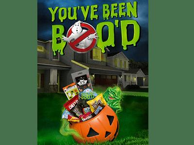 "Ghostbusters Halloween ""Boo It Forward"" Kits"
