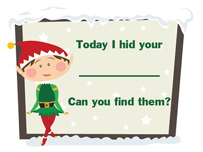 Elf on the Shelf Cards