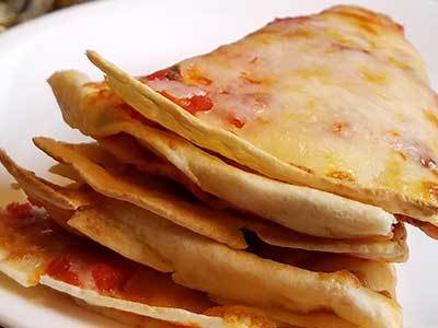 Easy Pizzadilla