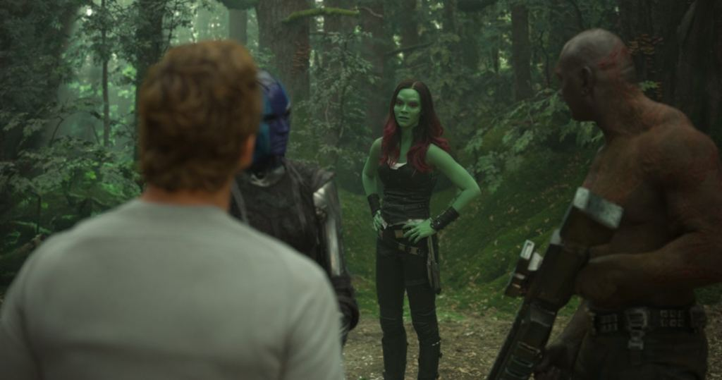 Exclusive Interview with Zoe Saldana as Gamora