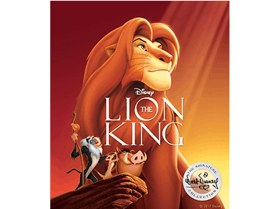 THE LION KING Signature Collection Now on Blu-ray and DVD
