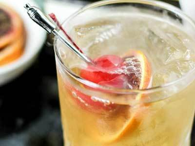 Spooky Old Fashioned Cocktail