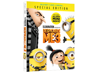 DESPICABLE ME 3 Prize Pack