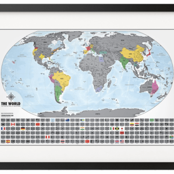 Landmass Travel Tracker Maps