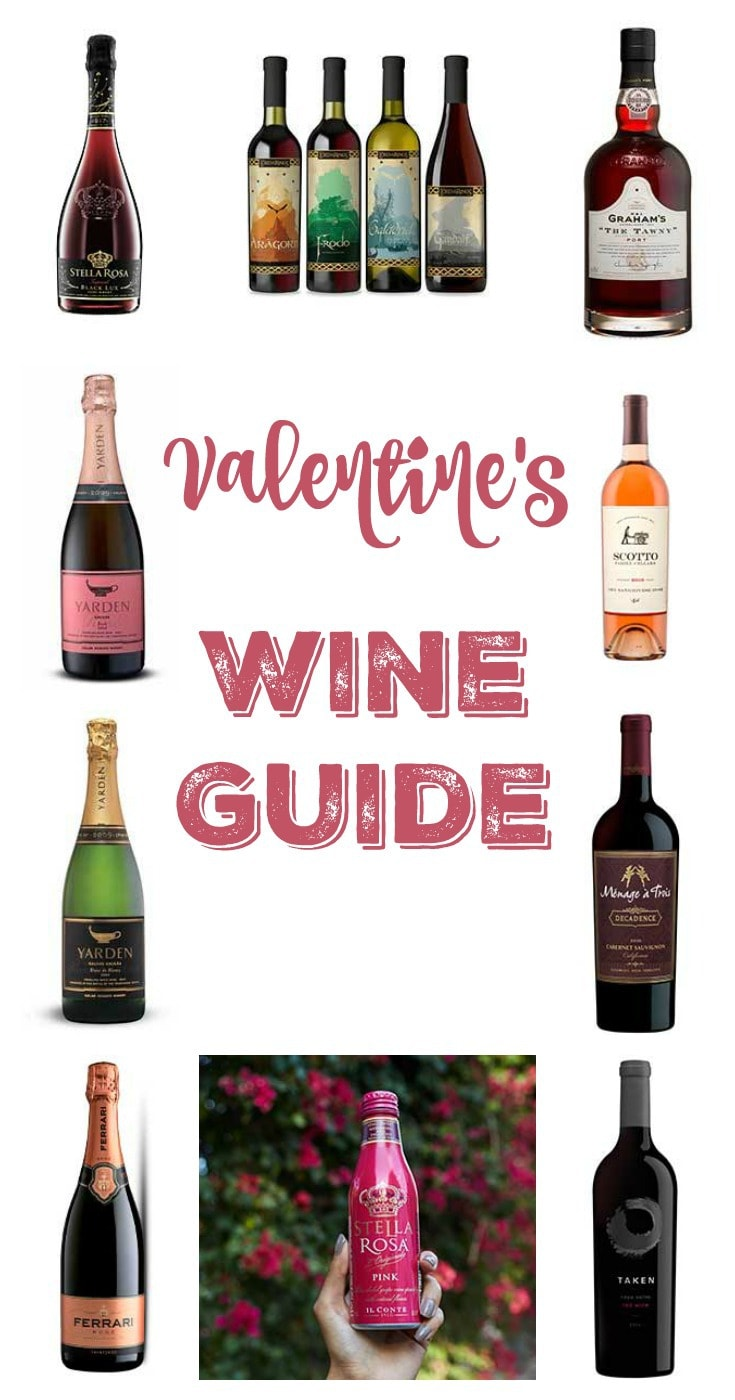 Valentines Wine Guide