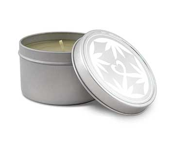 lovebud massage oil candle