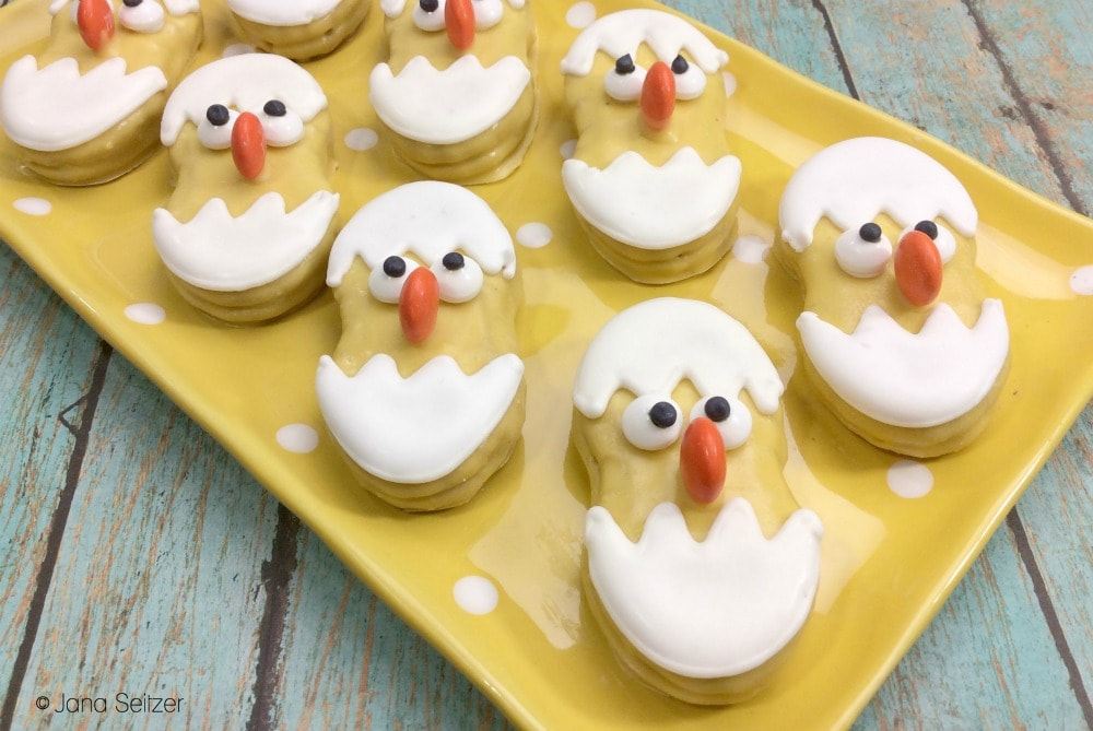 Baby Chick Cookies
