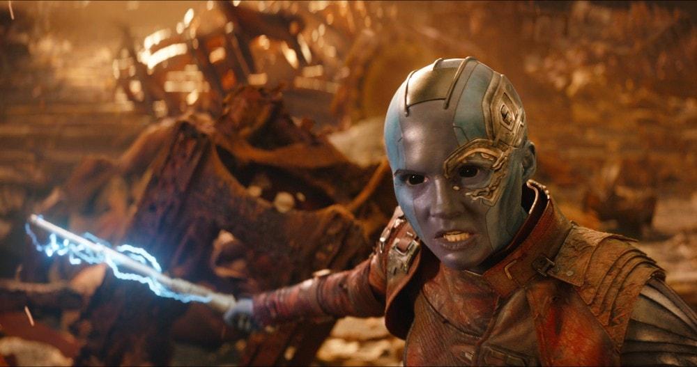 Nebula Avengers Infinity War