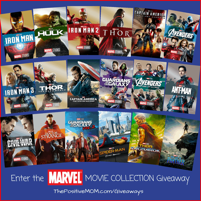 The Ultimate Marvel Movie Collection Giveaway