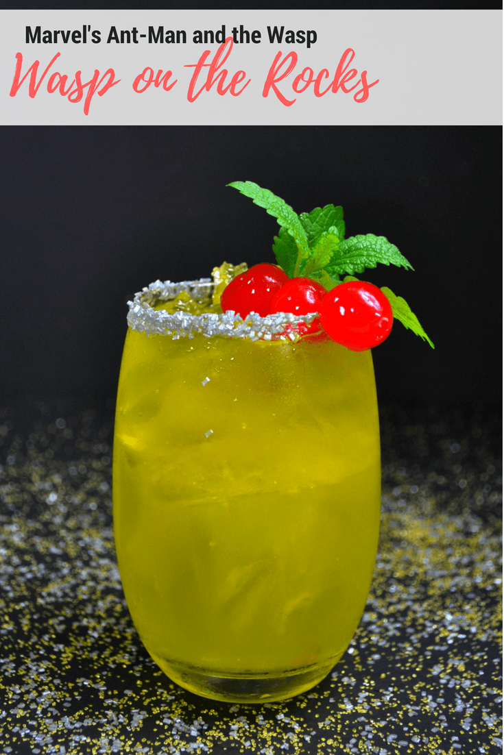 Wasp on the Rocks - Ant-Man and the Wasp Cocktail