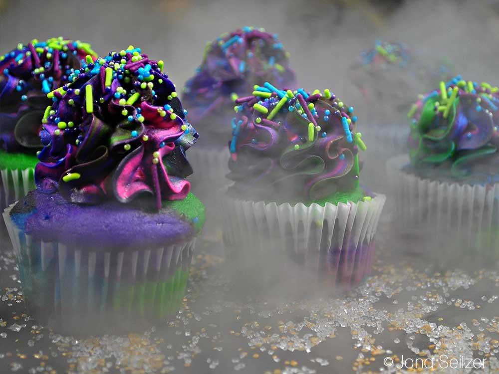 Star Wars Galaxy Cupcakes