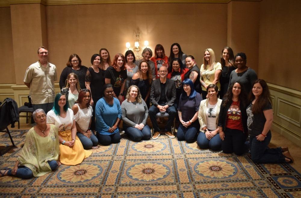 Peyton Reed group photo