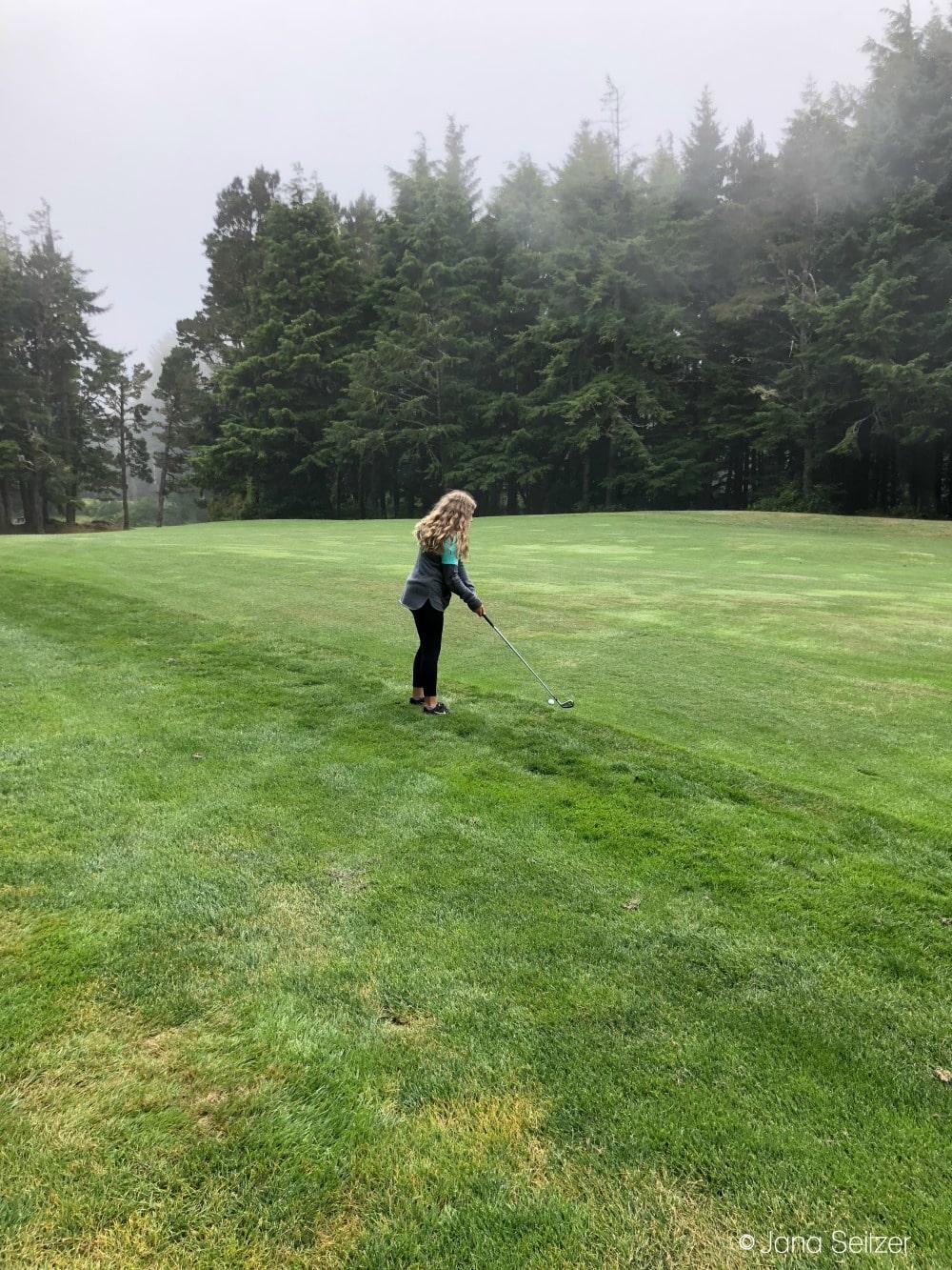 Golf Course at Salishan Resort