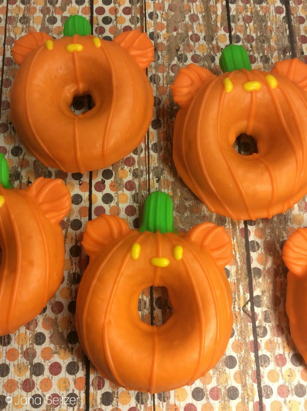 Mickey Pumpkin Donut