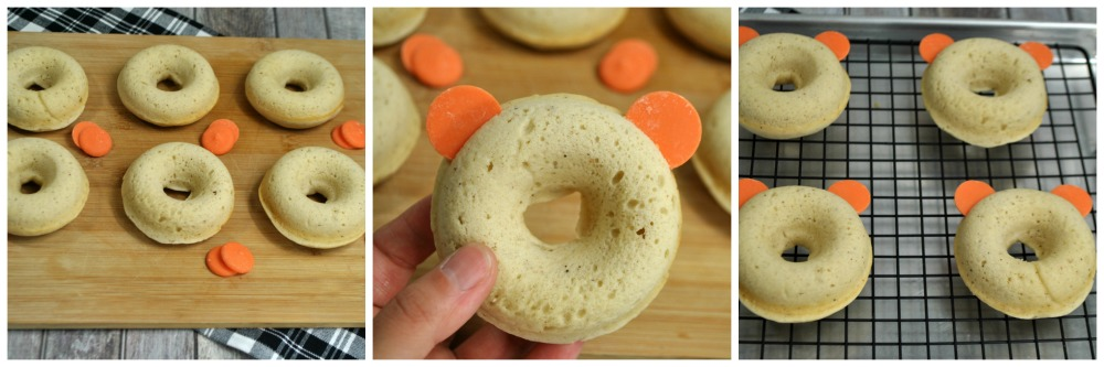 Mickey Pumpkin Donuts in process 1