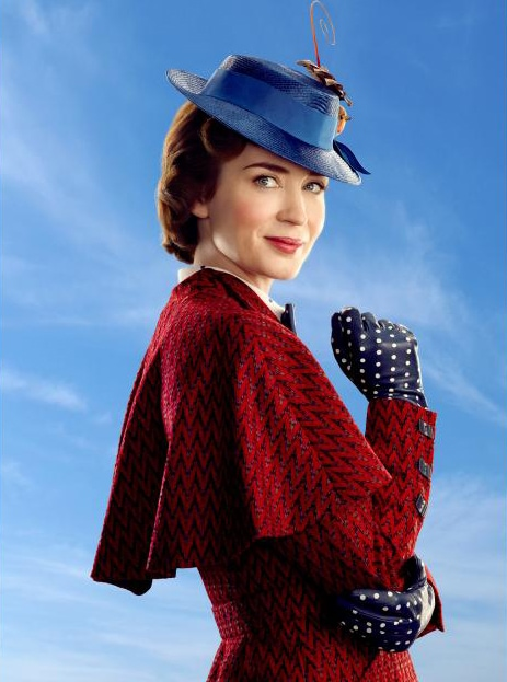 First Look: Mary Poppins Returns Trailer and Poster - Mary Poppins character poster
