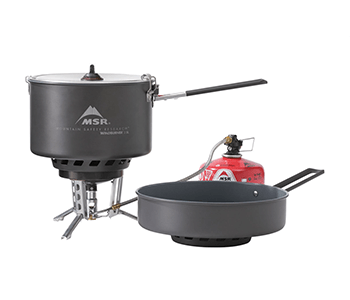 windburner stove system combo