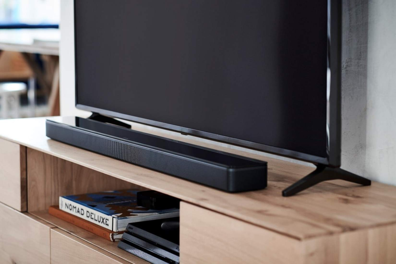 Bose Soundbar and Bass Module