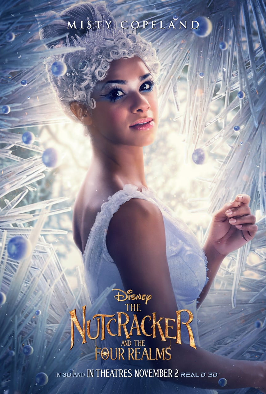 Disney's The Nutcracker and the Four Realms - ballerina Misty Copeland poster