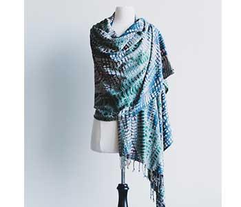 Angie Jade & Steel scarf
