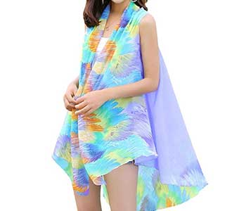 Imageries Women's Resort Swimsuit Beach Cover Ups