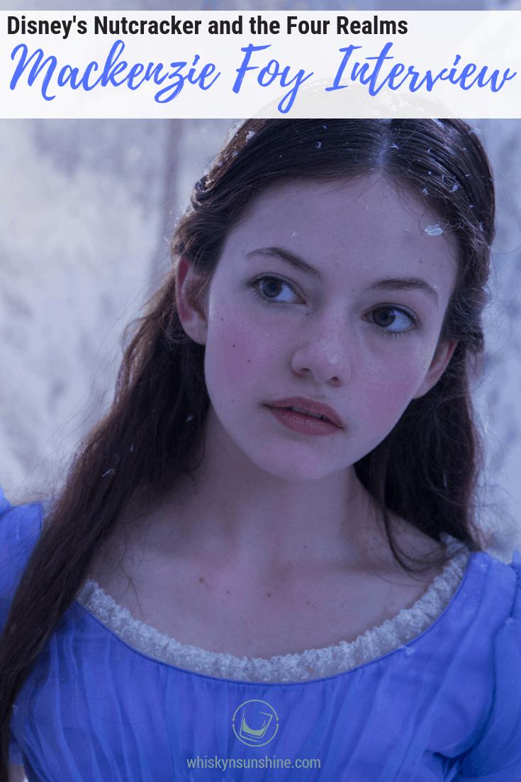 Mackenzie Foy Interview - Disney's Nutcracker and the Four Realms