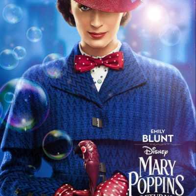 Disney's MARY POPPINS RETURNS New Character Posters + Sneak Peek