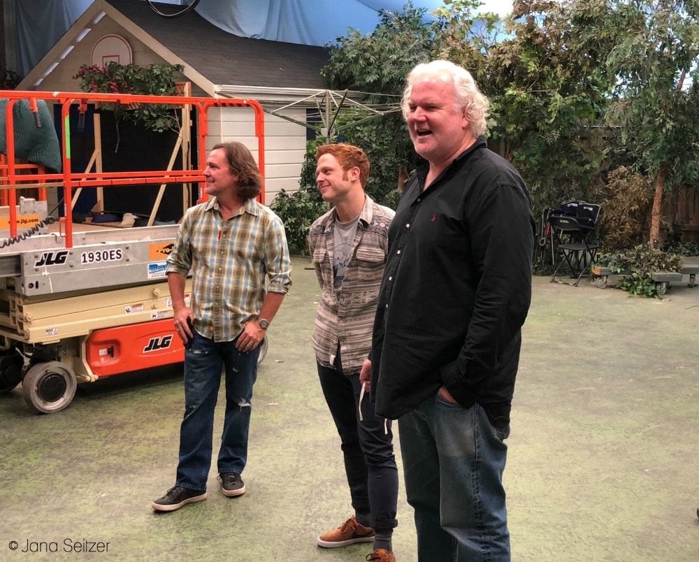Visit the Set of The Kids Are Alright - Michael Whetstone, Caleb Foote, and Tim Doyle