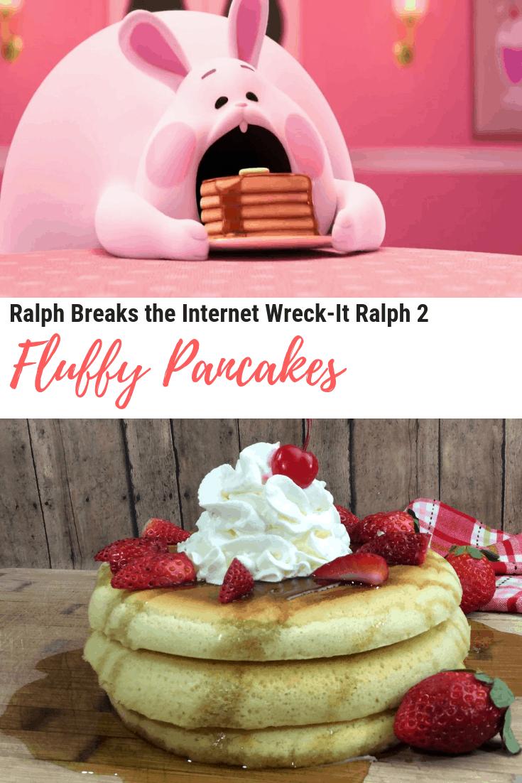 Ralph Breaks the Internet Wreck-It Ralph 2 - Bunny Eats Pancakes - Fluffy Pancakes
