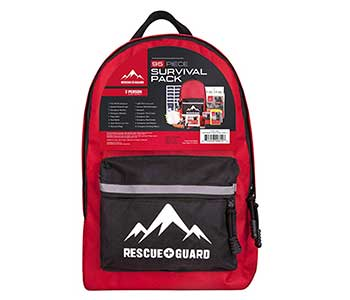 Rescue Guard Hurricane or Earthquake Emergency Kits