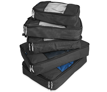 TravelWise 5 Piece Packing Cube Set